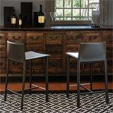 Taburete bar y cocina tapizado Cliff Cattelan Italia