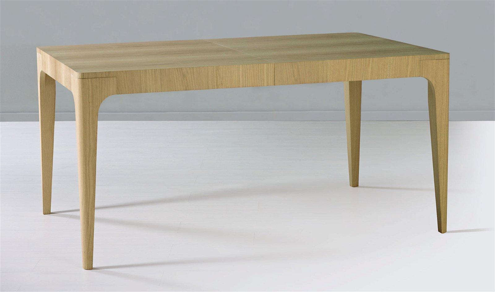 Mesa de comedor extensible nórdica Subai