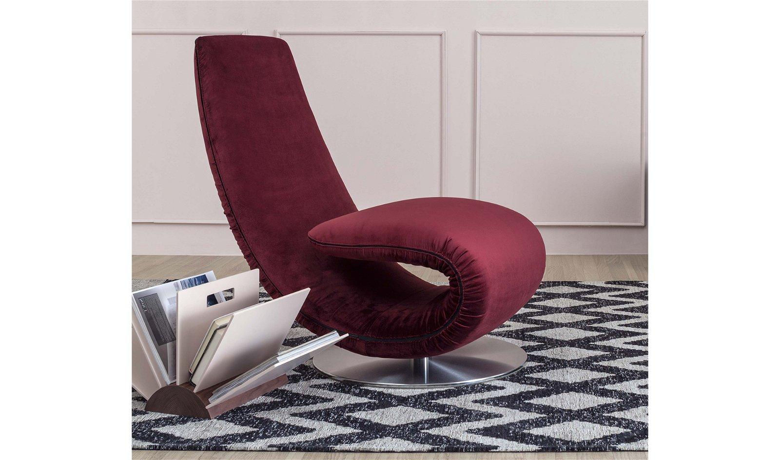 Chaise longue moderno Ricciolo