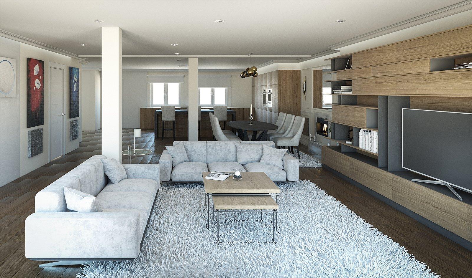 Mueble de salón Lucareli