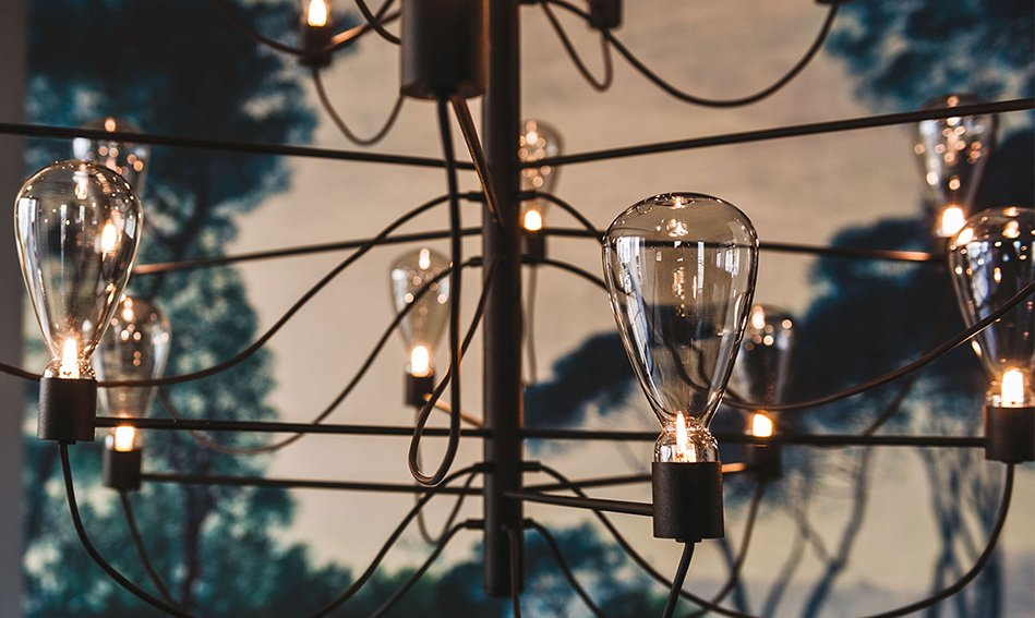 Lámpara de techo Poseidon Cattelan
