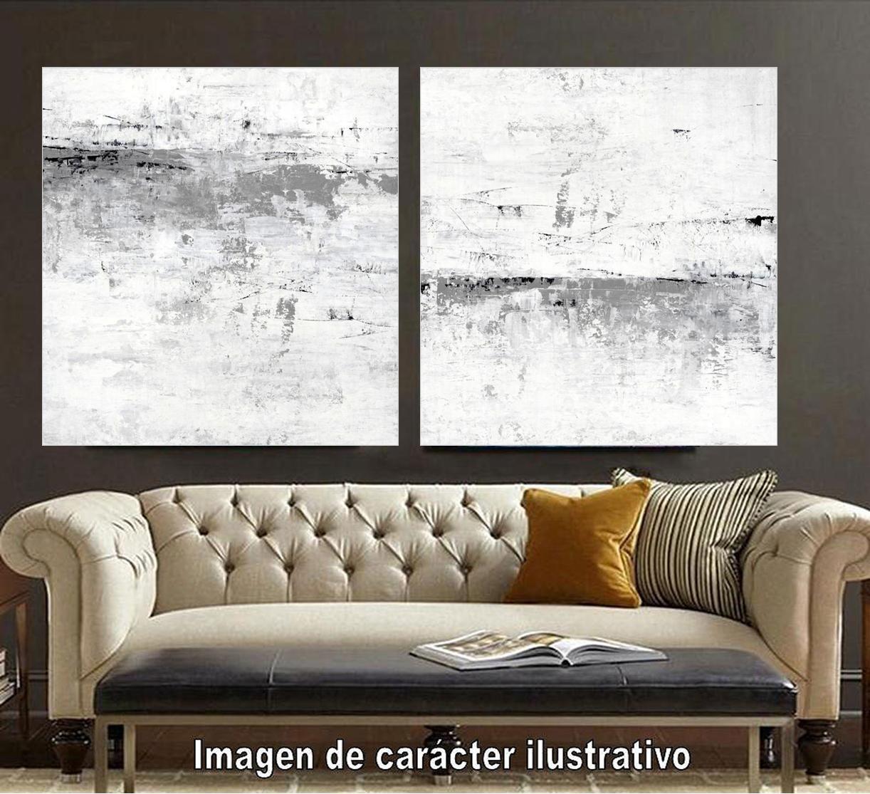 Cuadro canvas blizzard II