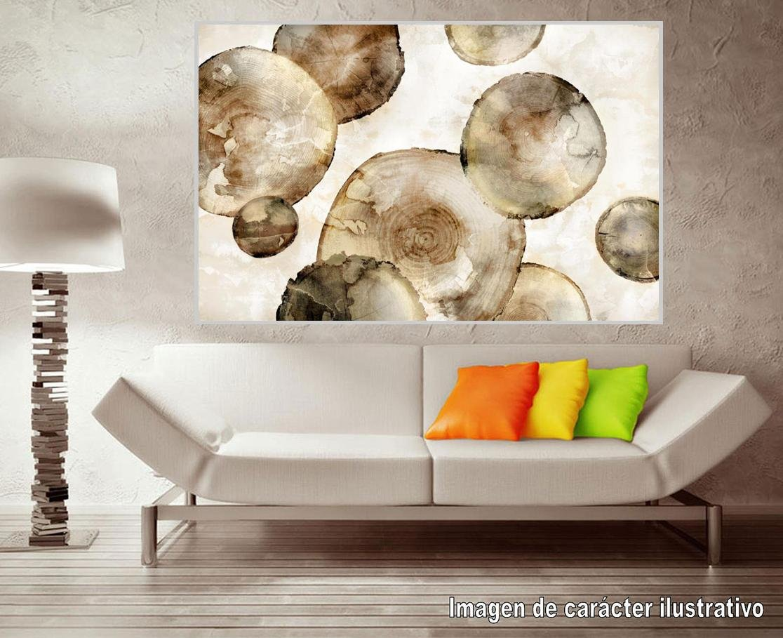 Cuadro canvas tree rings