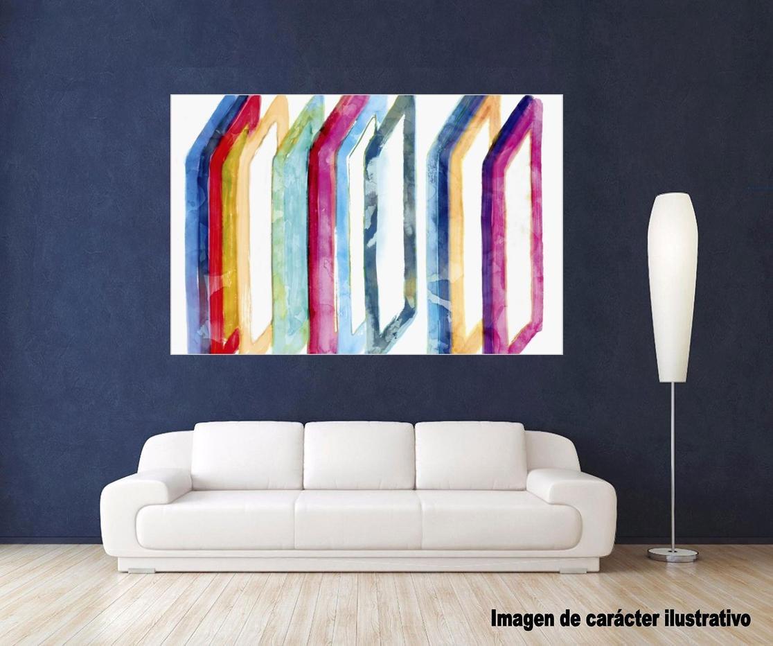 Cuadro canvas warm formations I