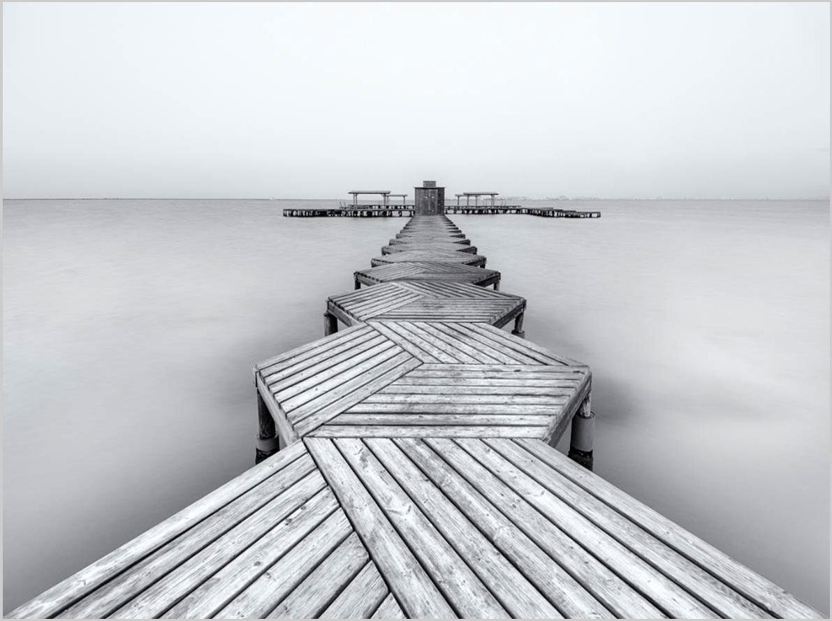 Cuadro canvas the pier