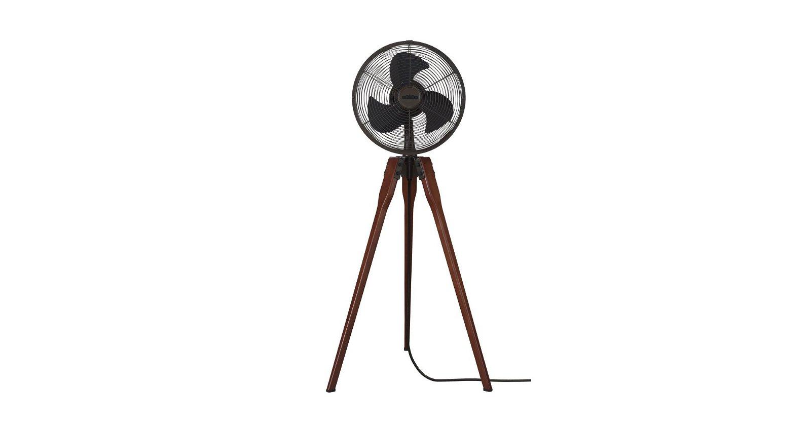 Ventilador de pie TRIPOD 111 bronze