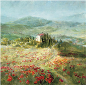 Cuadro canvas summer in provence