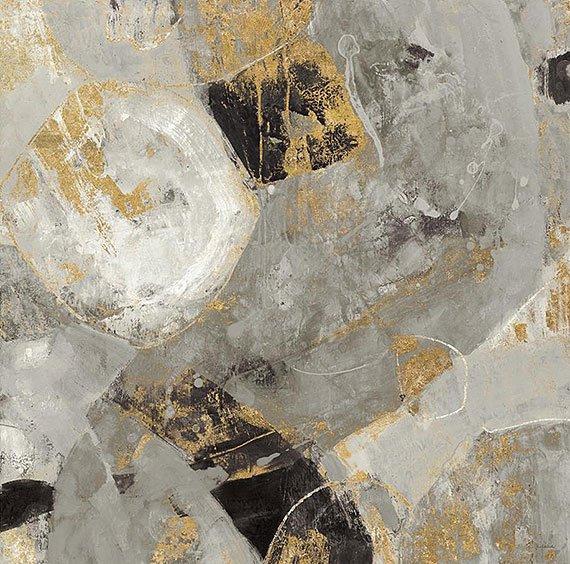 Cuadro canvas painted desert neutral