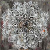 Cuadro canvas mandala in neutral