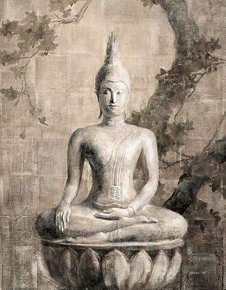 Cuadro canvas buddha neutral