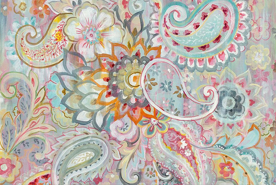 Cuadro canvas boho japonais