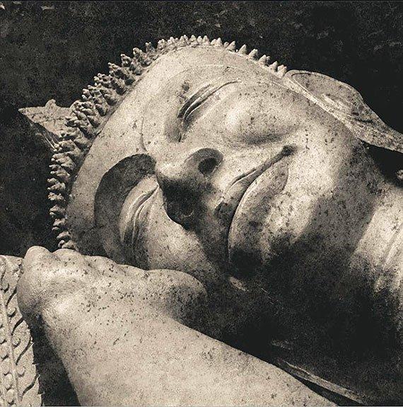Cuadro canvas reclining buddha