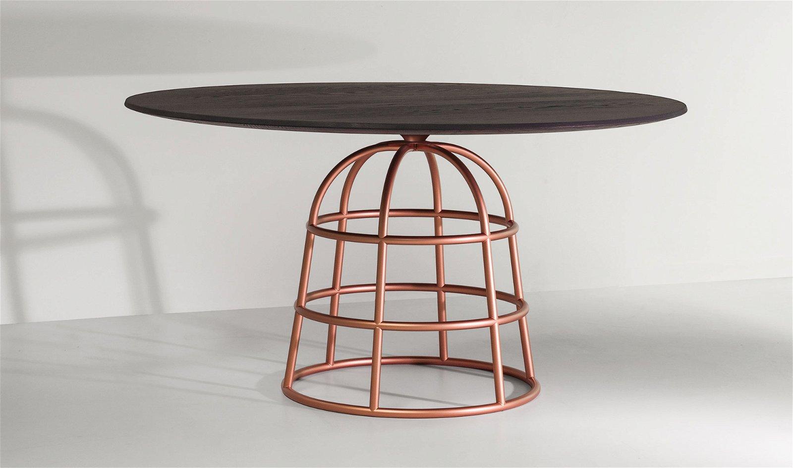 Mesa de comedor roble Mass Table Bonaldo