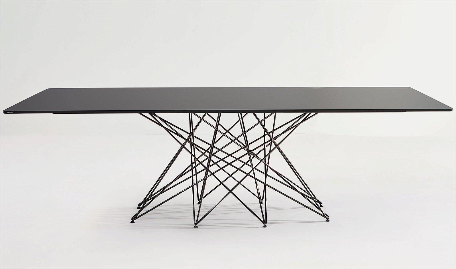 Mesa de comedor cristal Octa Bonaldo