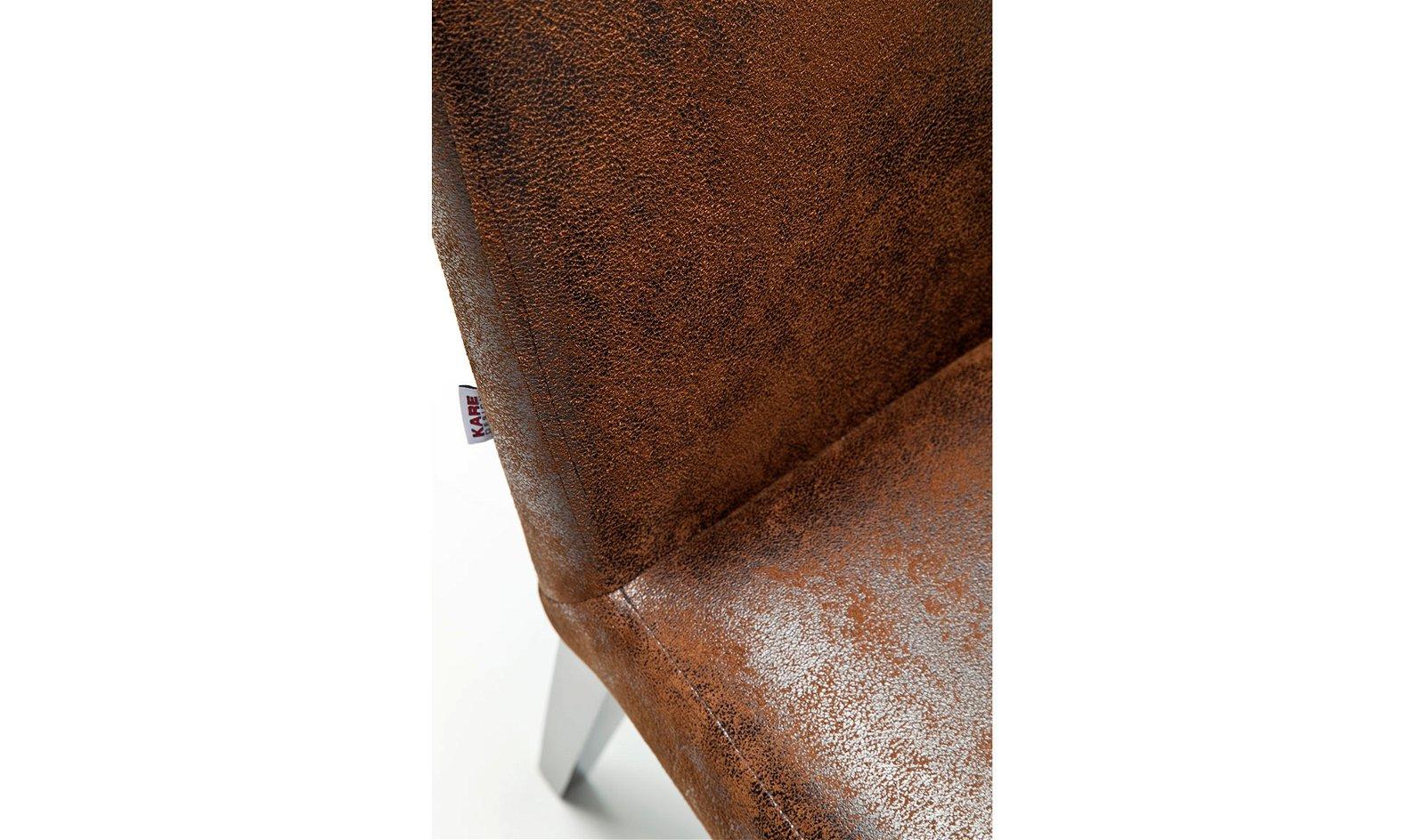 Silla acolchada Casual Vintage