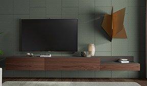 Mesa de television Treviso by Bodonni