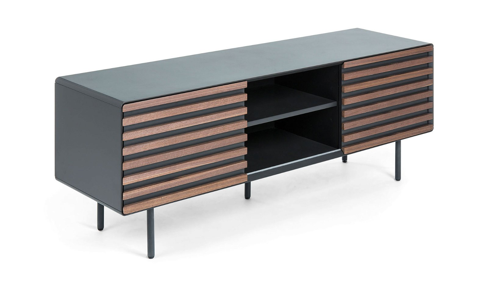 Mueble tv grafito vintage Kesia