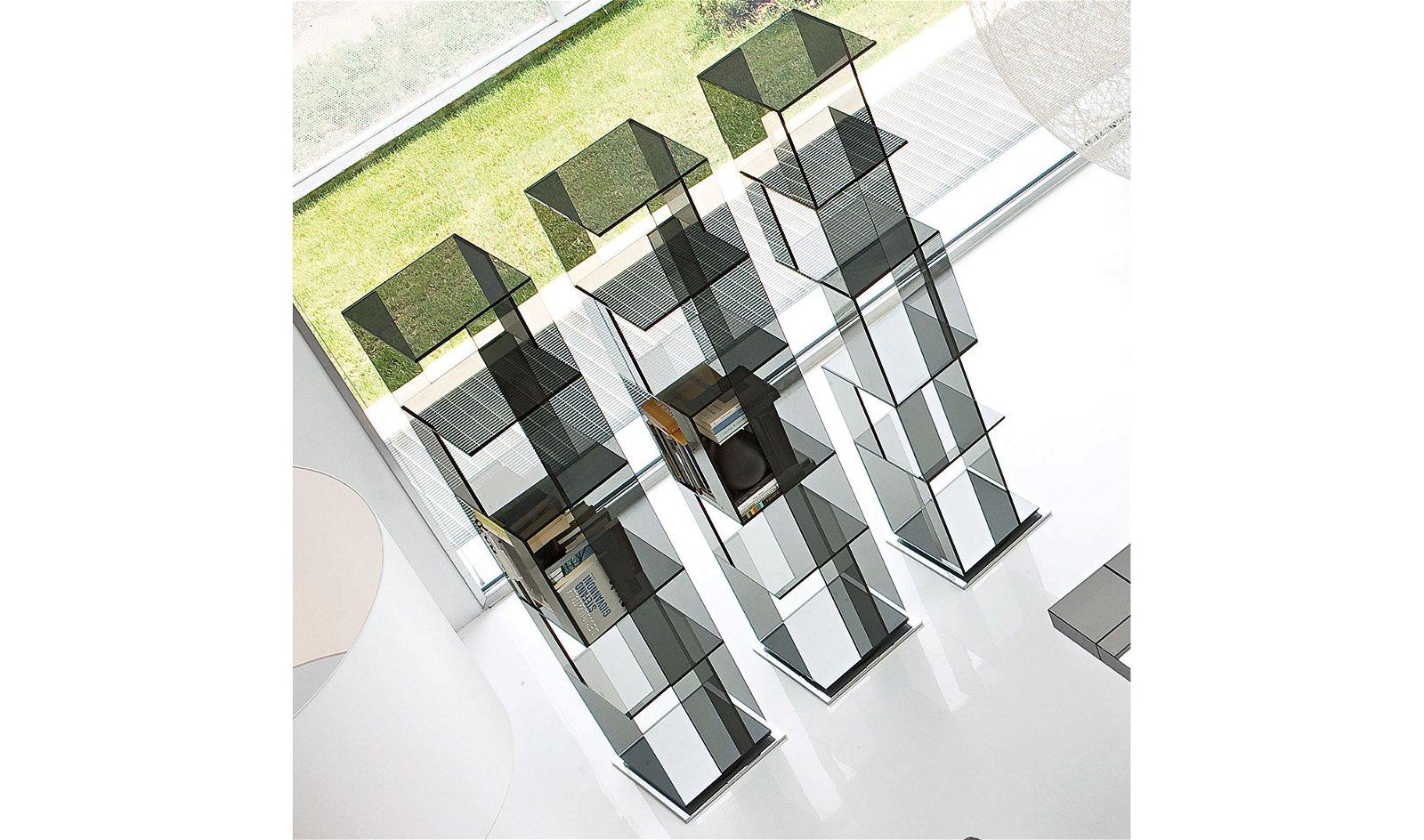 Librería cristal Cubic Bonaldo