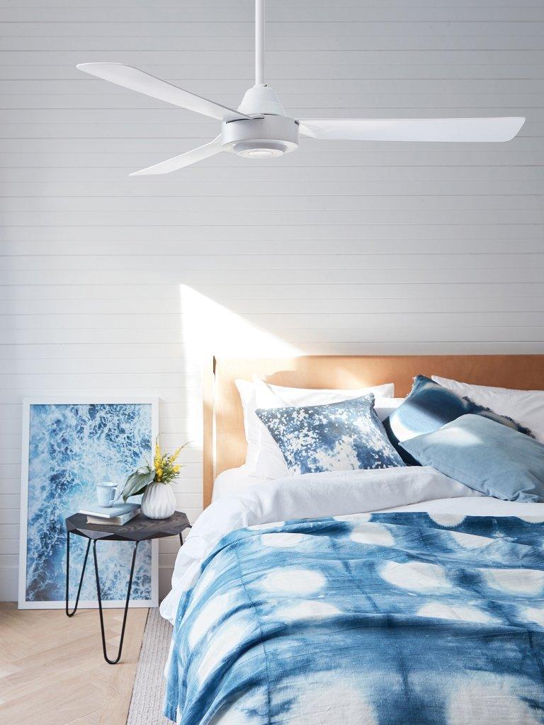 CAPRI ventilador moderno blanco