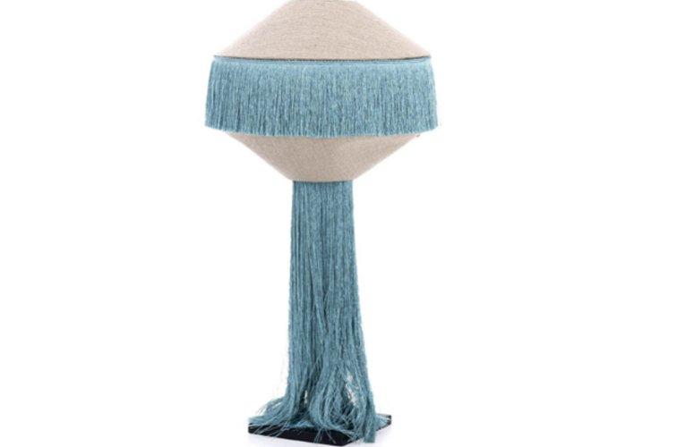 Lámpara sobremesa El Sinor azul