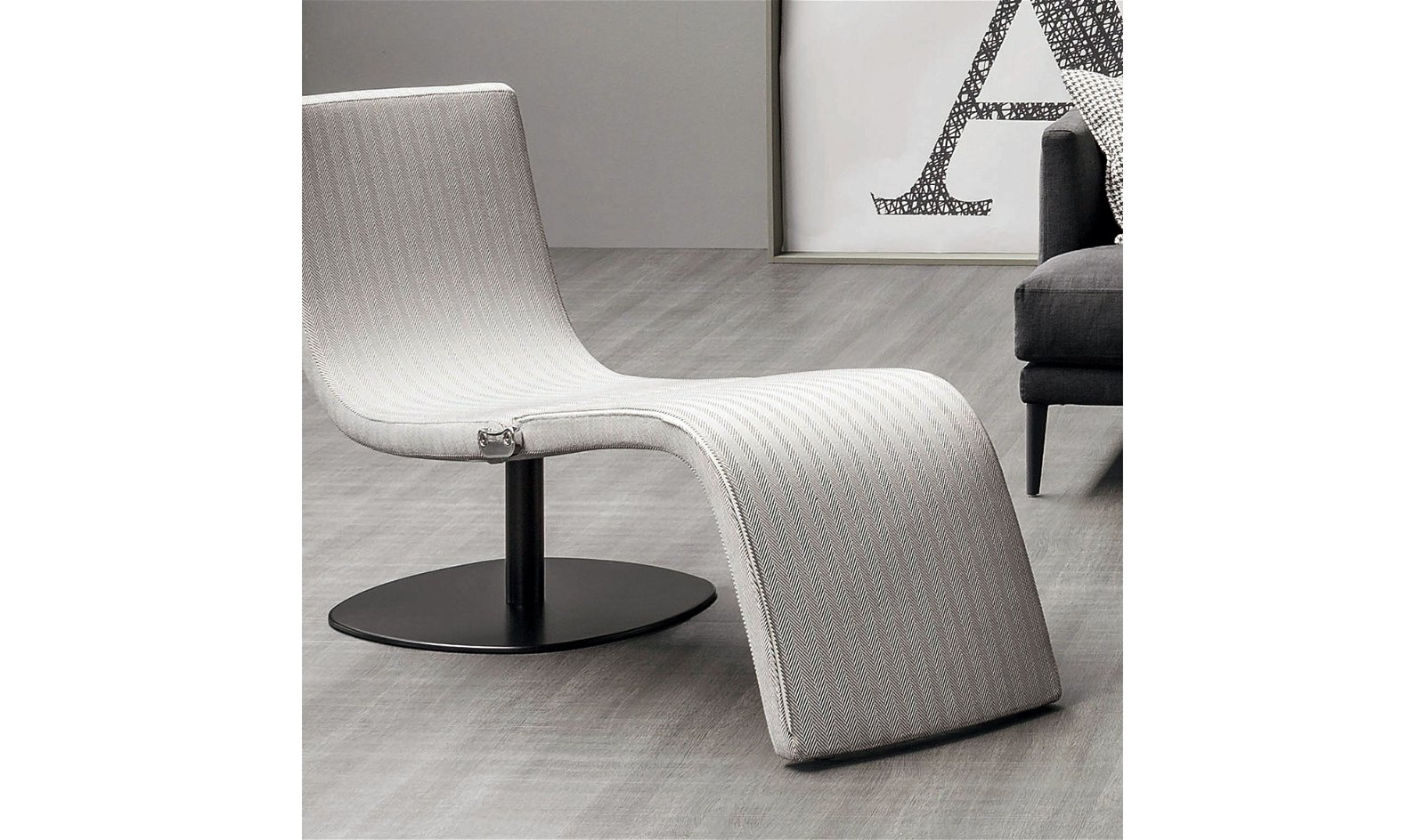 Chaise longue moderna Dragonfly Bonaldo