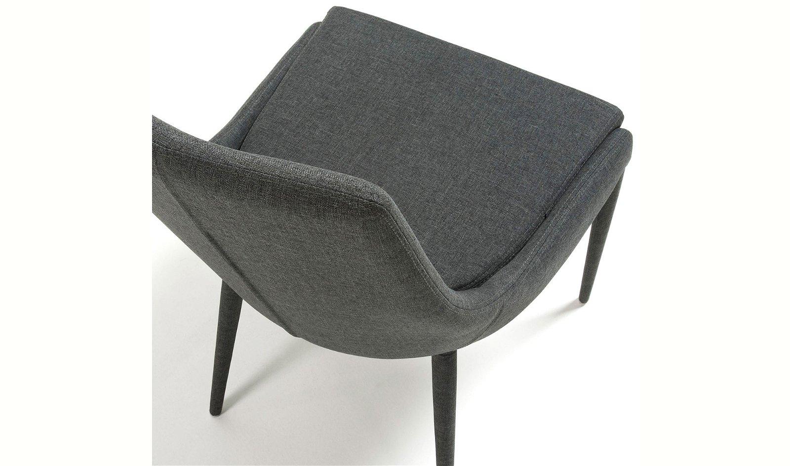 Silla tapizada moderna Tand