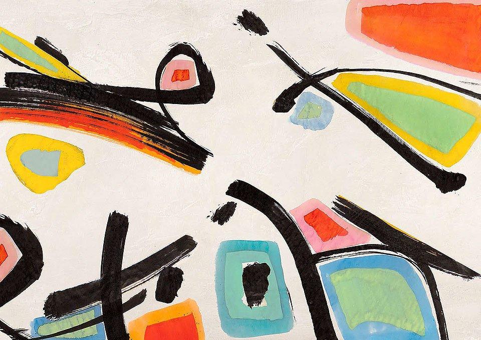Cuadro canvas colored optimism