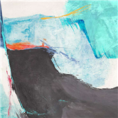 Cuadro canvas high tide II