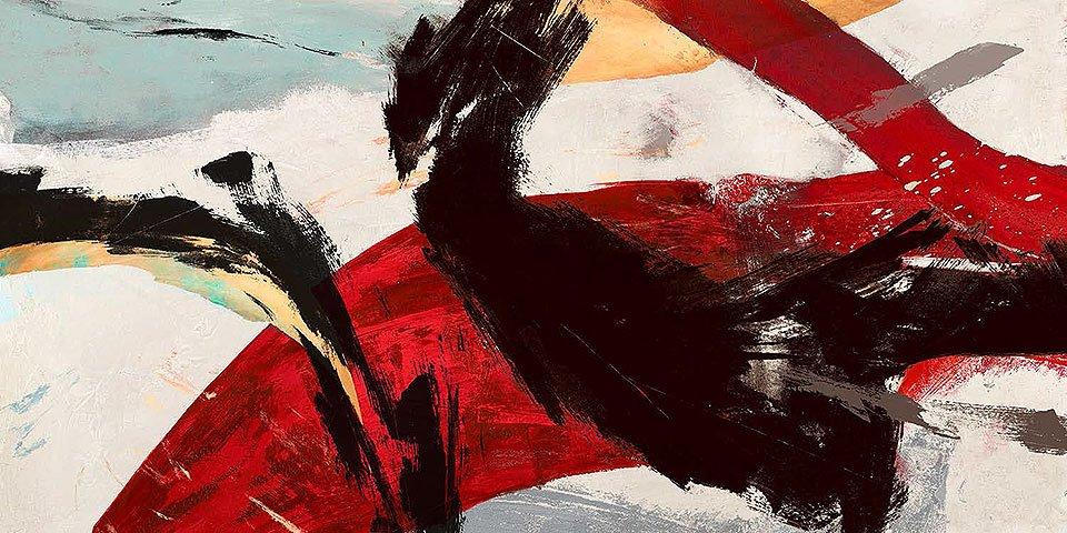 Cuadro canvas ride the tiger