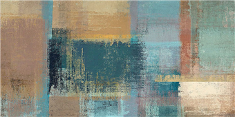 Cuadro canvas chromatic horizon