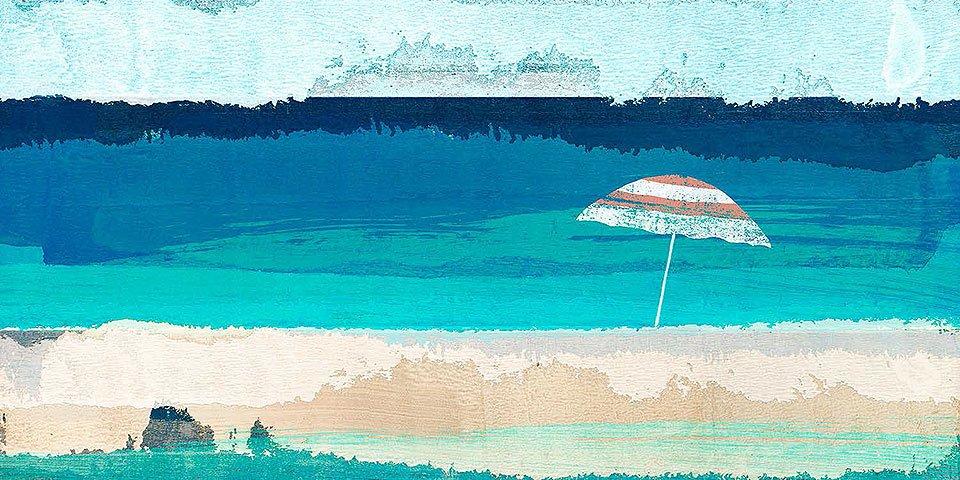 Cuadro canvas tropical breeze