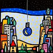 Cuadro canvas ilumino di luna