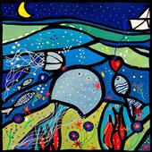 Cuadro canvas la medusa innamorata