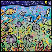Cuadro canvas la danza delle meduse
