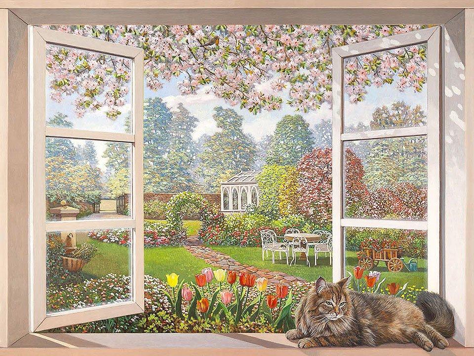 Cuadro canvas giardino italiano