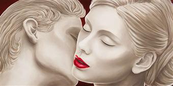 Cuadro canvas eternal lovers