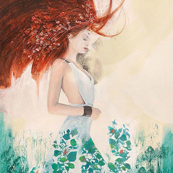 Cuadro canvas fairy of spring
