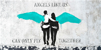 Cuadro canvas masterfunk collective angels like us