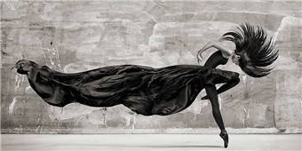 Cuadro canvas julian lauran black swan