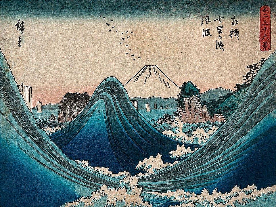 Cuadro canvas mount fuji