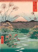 Cuadro canvas otsuki plain in kai province