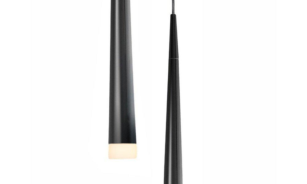 Lámpara de techo Stylo negra