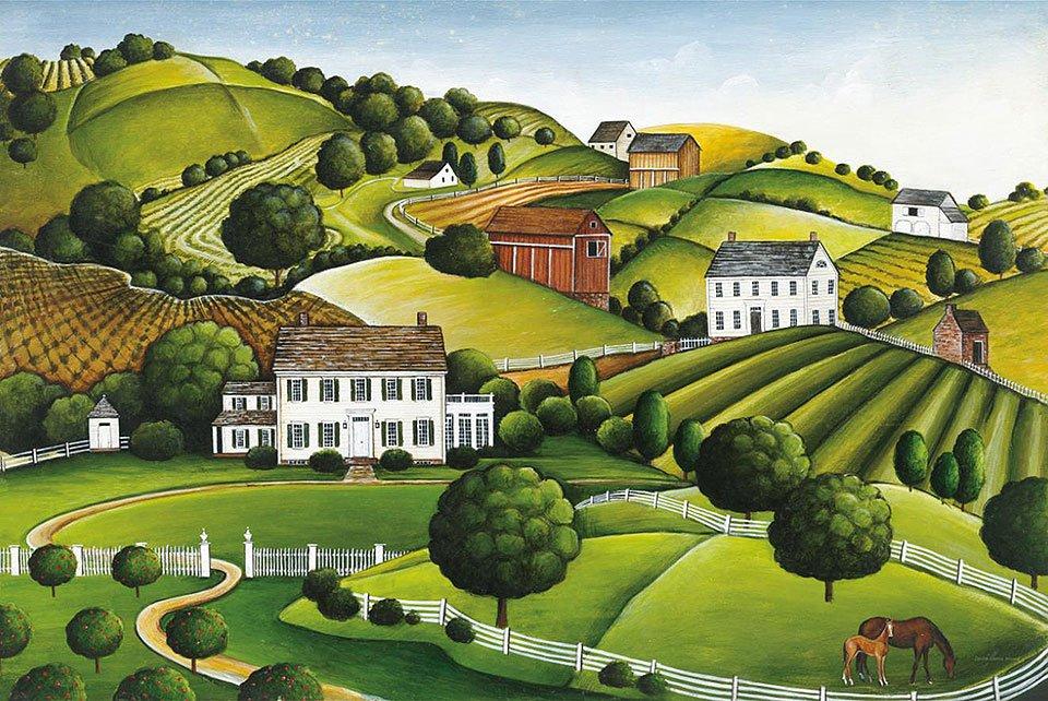 Cuadro canvas apple valley