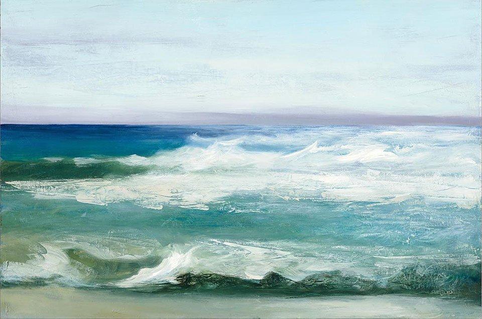 Cuadro canvas azure ocean