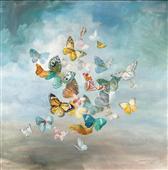 Cuadro canvas beautiful butterflies