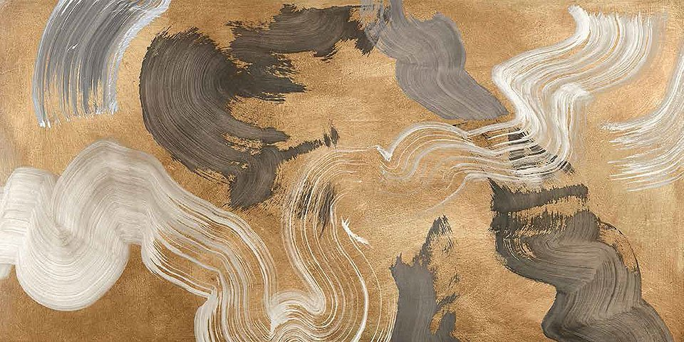 Cuadro canvas metallic movements