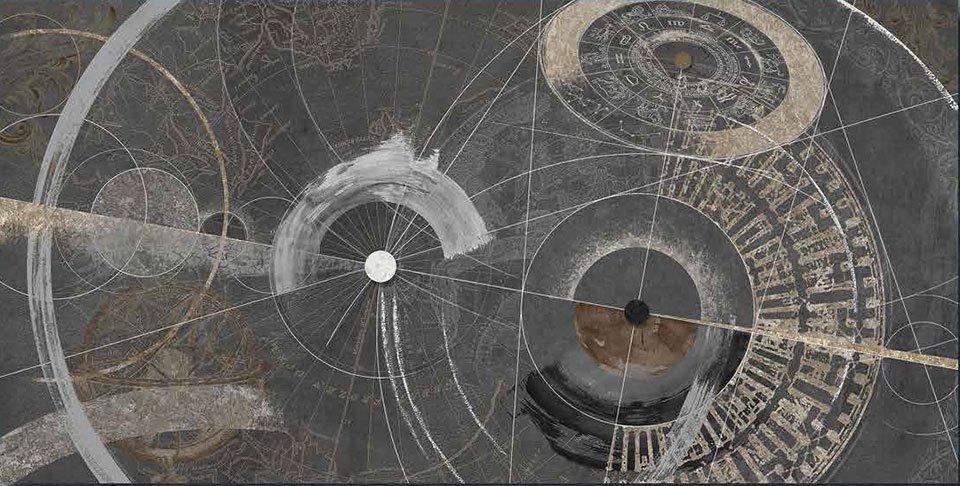 Cuadro canvas proiezioni zodiacali