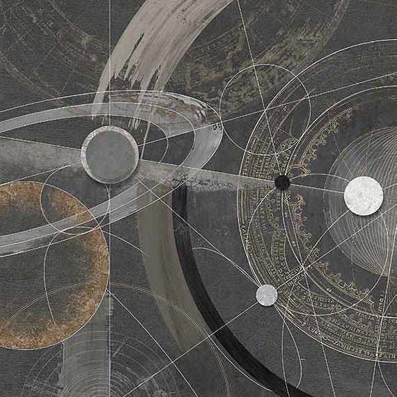 Cuadro canvas orbitale II