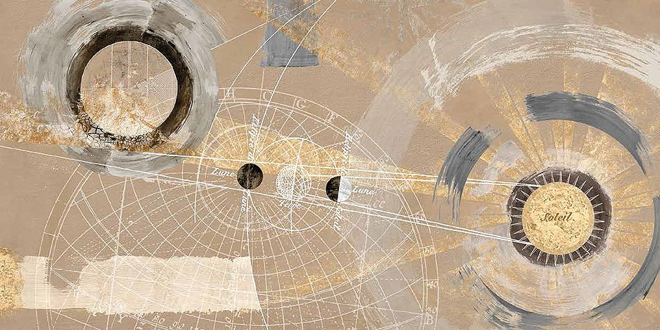 Cuadro canvas orbita solare
