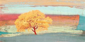 Cuadro canvas treescape 2
